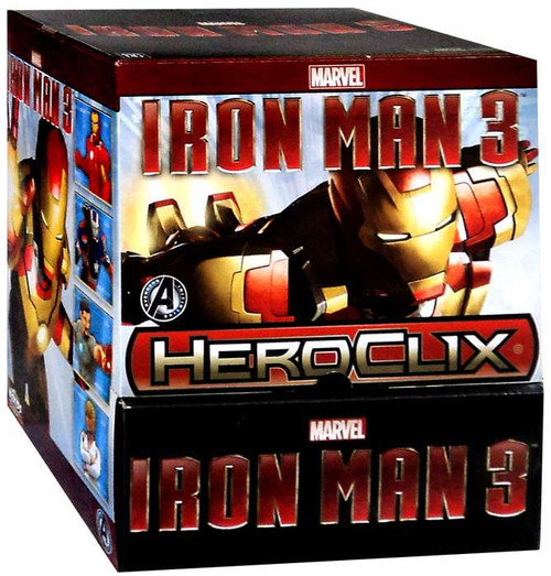 Marvel HeroClix Iron Man 3 Booster Box