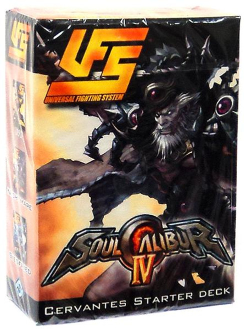 Universal Fighting System Soul Calibur IV Cervantes Starter Deck