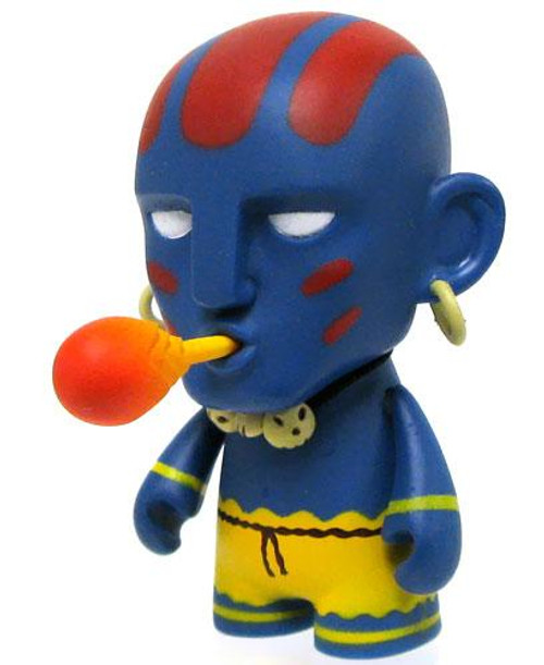 Street Fighter Dhalsim 3-Inch Vinyl Figure [Blue]