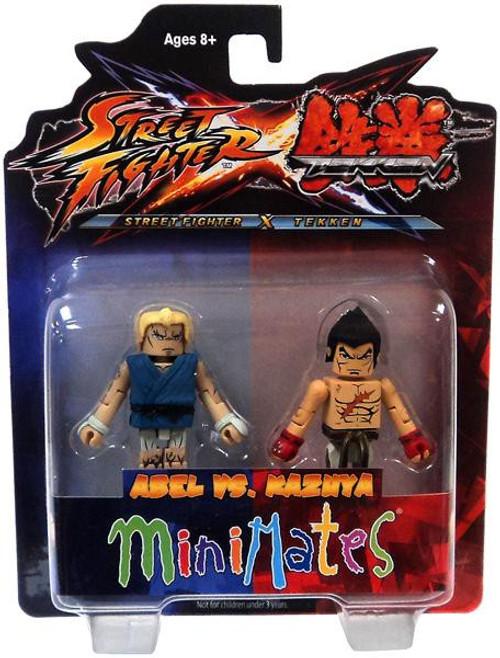 Street Fighter X Tekken Minimates Series 2 Abel vs Kazuya Minifigure 2-Pack