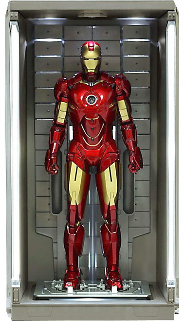 Iron Man 2 Hall of Armor 1/6 Collectible Figure [Single Bay]