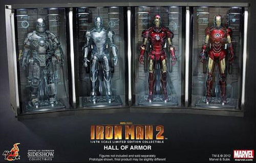 Iron Man 2 Hall of Armor 1/6 Collectible Figures [Set of 4]