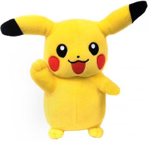 Pokemon Black & White 8 Inch Pikachu Plush [Waving]