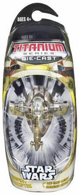 Star Wars The Clone Wars Titanium Series 2007 Firespray Interceptor Diecast Vehicle