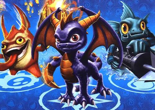 Skylanders Giants 50-Piece Puzzles Spyro, Trigger Happy & Gil Grunt Puzzle