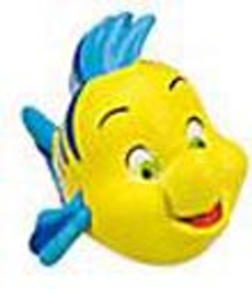 Disney The Little Mermaid Flounder Exclusive 1-Inch PVC Figure [Loose]