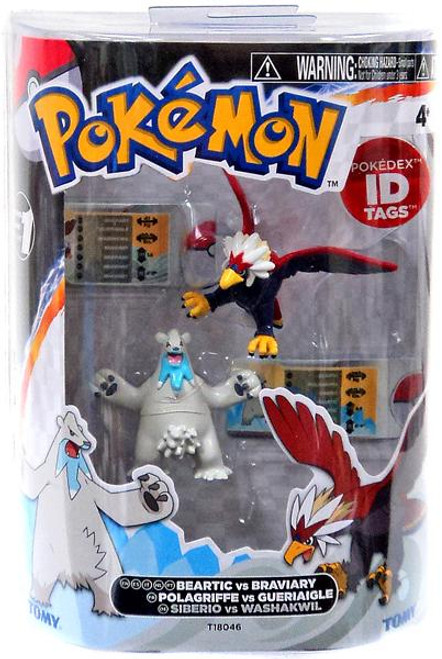 Pokemon Black & White Basic Beartic vs. Braviary Figure 2-Pack