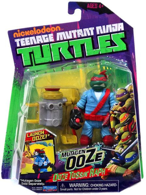 Teenage Mutant Ninja Turtles Nickelodeon Mutagen Ooze Ooze Tossin' Raph Action Figure