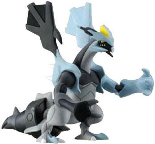 Pokemon Black & White Basic Black Kyurem 2-Inch Figure [Loose]