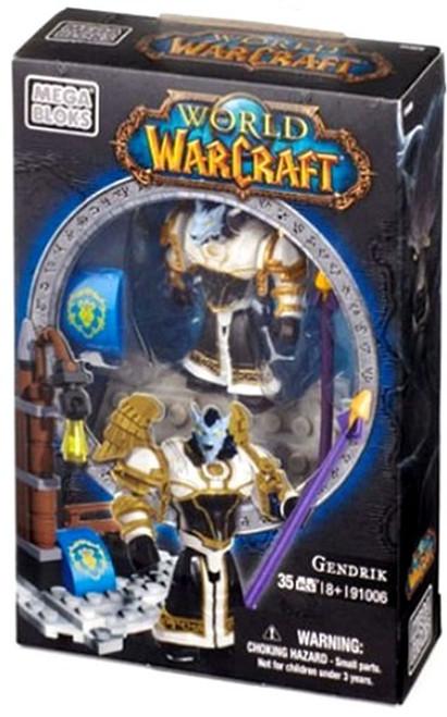Mega Bloks World of Warcraft Faction Packs Gendrik Set #91006