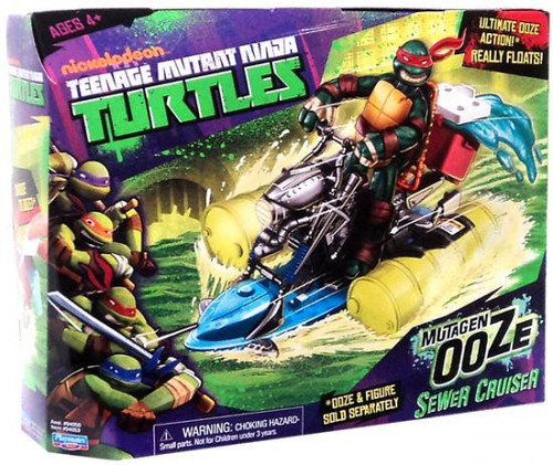 Teenage Mutant Ninja Turtles Nickelodeon Mutagen Ooze Sewer Cruiser Action Figure Vehicle