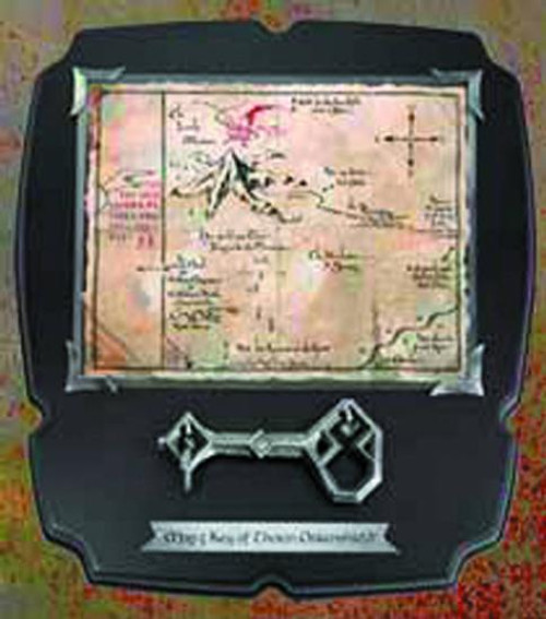 The Hobbit Thorin' Key and Thror's Map Prop Replica