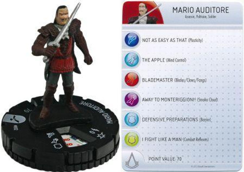 Brotherhood Assassin's Creed HeroClix Mario Auditore #002