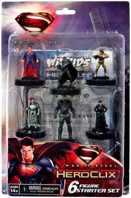 Superman HeroClix Man of Steel Starter Set
