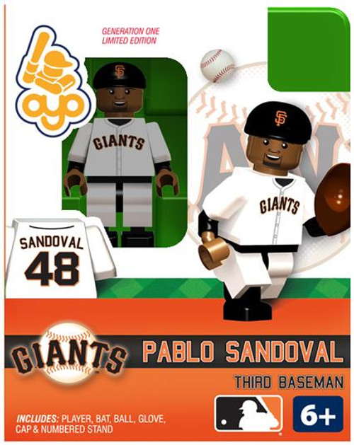 San Francisco Giants MLB Generation One Pablo Sandoval Minifigure