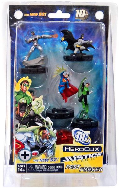 Justice League The New 52 HeroClix Fast Forces Figure Pack