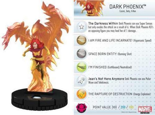Marvel 10th Anniversary HeroClix Dark Phoenix #021