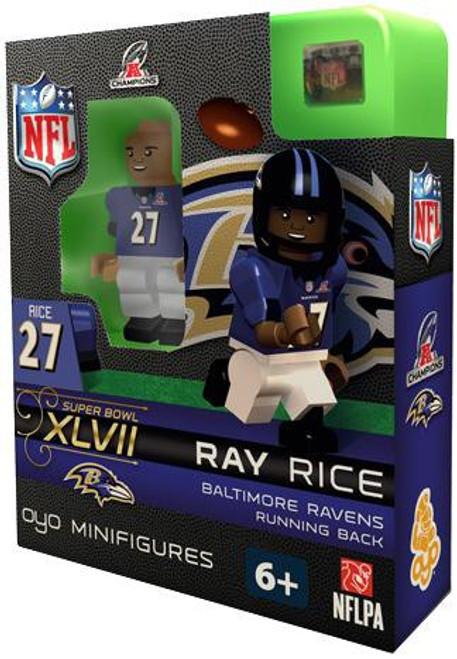 Baltimore Ravens NFL Super Bowl XLVII Ray Rice Minifigure