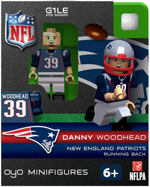 New England Patriots NFL Generation 1 2012 Season Danny Woodhead Minifigure