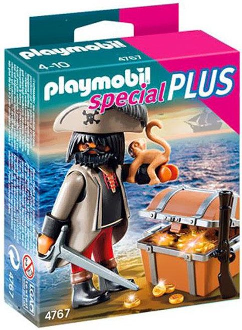 Playmobil Special Plus Gloomy Pirate & Treasure Chest Set #4767