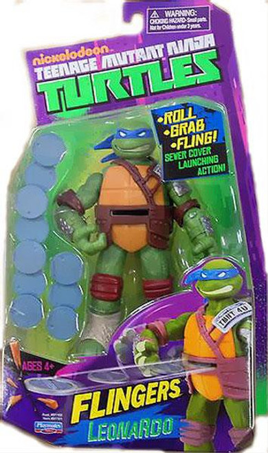 Teenage Mutant Ninja Turtles Nickelodeon Flingers Leonardo Action Figure