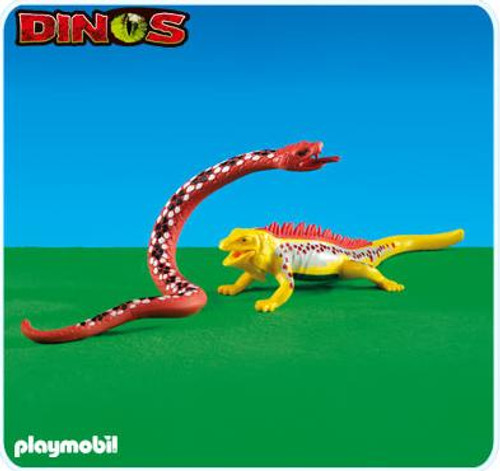 Playmobil Dinos Boa Constrictor and Large Lizard Set #6261