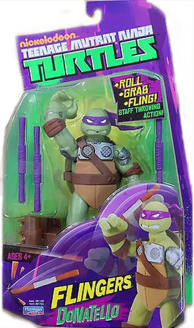 Teenage Mutant Ninja Turtles Nickelodeon Flingers Donatello Action Figure