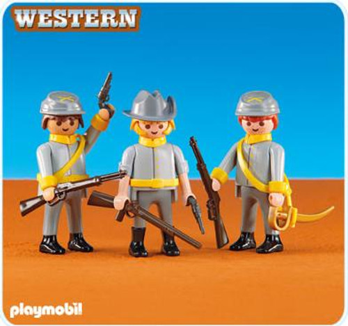 Playmobil Western Confederate Soldiers Set #6276