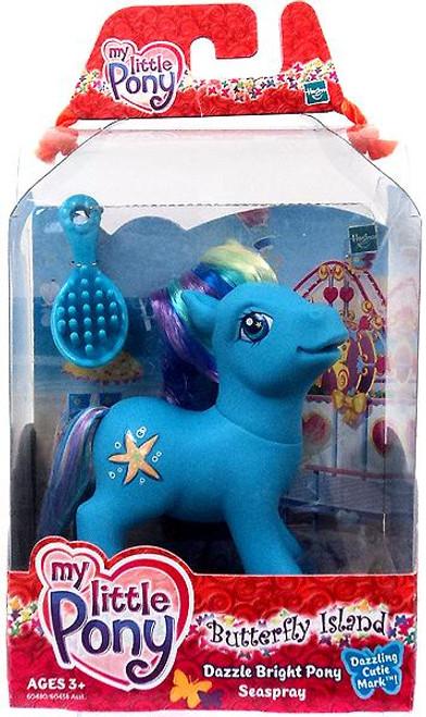 My Little Pony Butterfly Island Dazzle Bright Seaspray Figure
