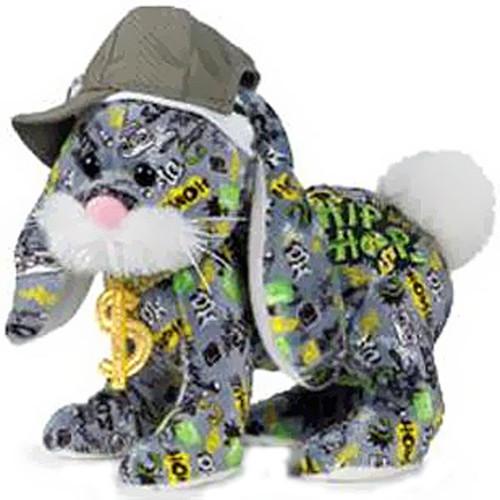 Webkinz Rockerz Hip Hop Bunny Plush