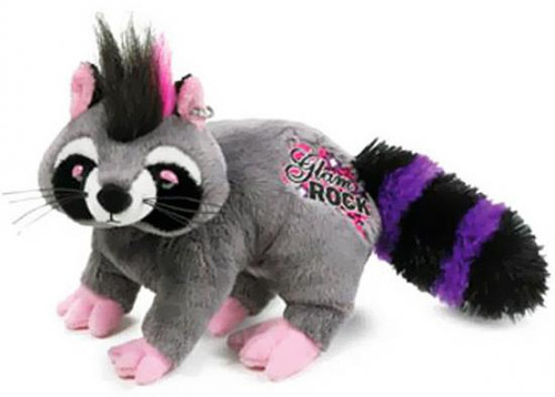 Webkinz Rockerz Glam Rock Raccoon Plush