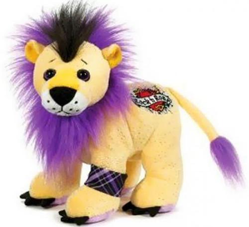 Webkinz Rockerz Rock 'n Roar Lion Plush