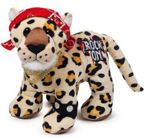 Webkinz Rockerz Rock On Leopard Plush