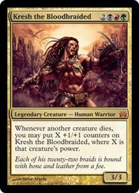 MtG From the Vault: Legends Mythic Rare Kresh the Bloodbraided #5