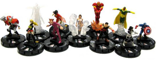 Marvel HeroClix Chaos War Set of 10 Gravity Feed Figures [Loose]