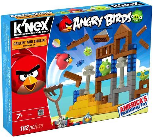 K'NEX Angry Birds Grillin' & Chillin' Set #72462