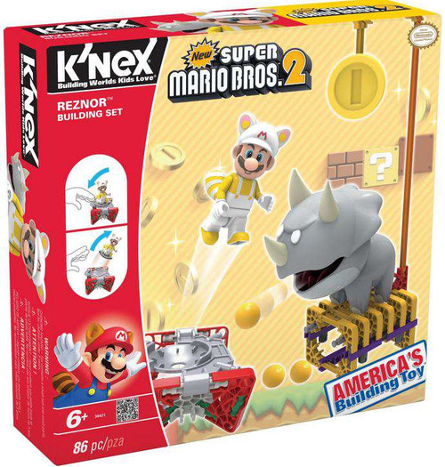 K'NEX New Super Mario Bros 2 Reznor Set #38421