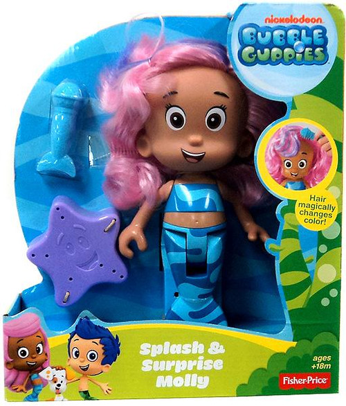 Fisher Price Bubble Guppies Splash & Surprise Molly Doll