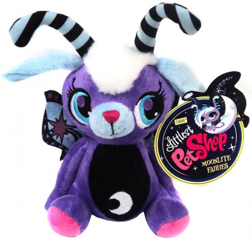 Littlest Pet Shop Moonlite Fairies Purple Fairie 7-Inch Plush