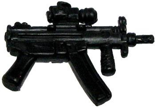 GI Joe Loose Weapons MP5 with Foregrip & Sight Action Figure Accessory [Black Loose]