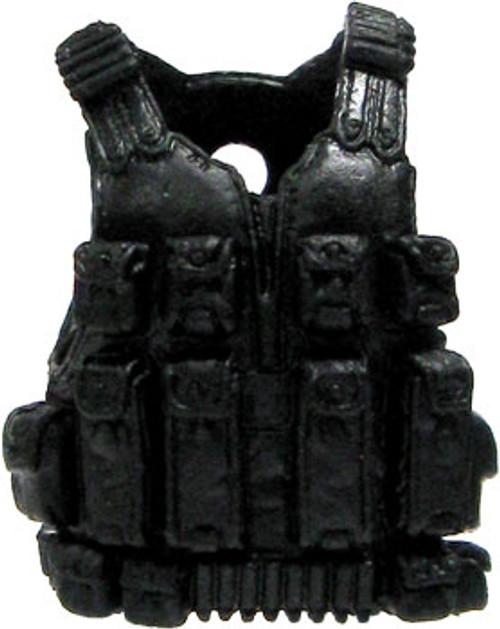 GI Joe Loose Tactical Vest Action Figure Accessory [Black Loose]