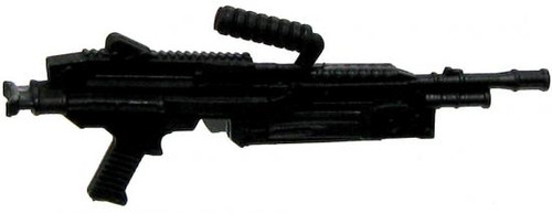 GI Joe Loose Weapons Machine Gun with Removeable Clip Action Figure Accessory [Black Loose]
