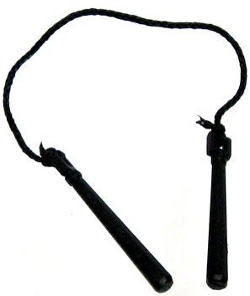 GI Joe Loose Weapons Heavy Nunchucks Action Figure Accessory [Black Loose]