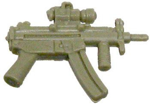GI Joe Loose Weapons MP5 with Foregrip & Sight Action Figure Accessory [Dark Tan Loose]