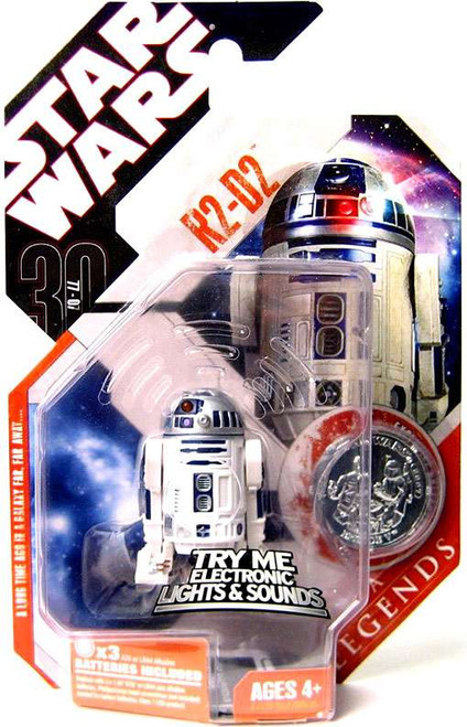 Star Wars A New Hope Saga Legends 2007 30th Anniversary R2-D2 Action Figure #4