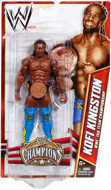 WWE Wrestling Champions Kofi Kingston Exclusive Action Figure