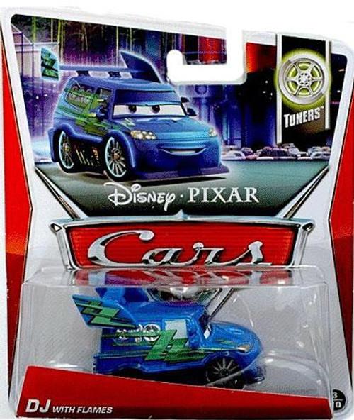 Disney Cars Series 3 DJ with Flames Diecast Car