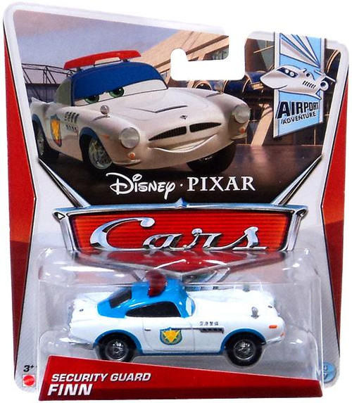 Disney Cars Series 3 Security Guard Finn Diecast Car