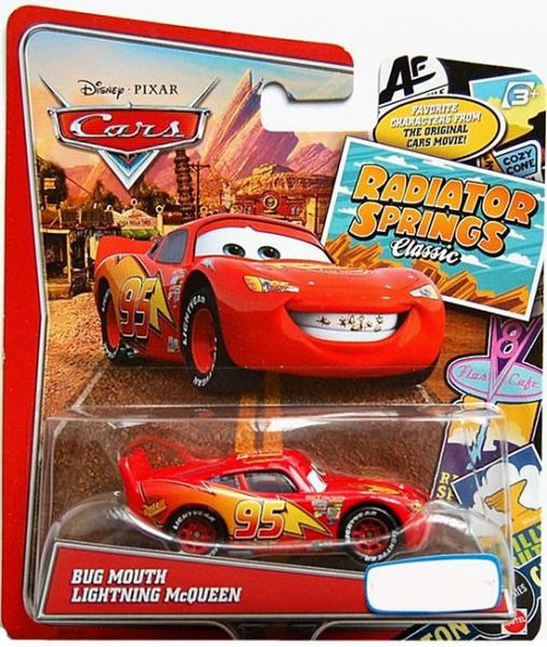 Disney Cars Radiator Springs Classic Bug Mouth Lightning McQueen Exclusive Diecast Car