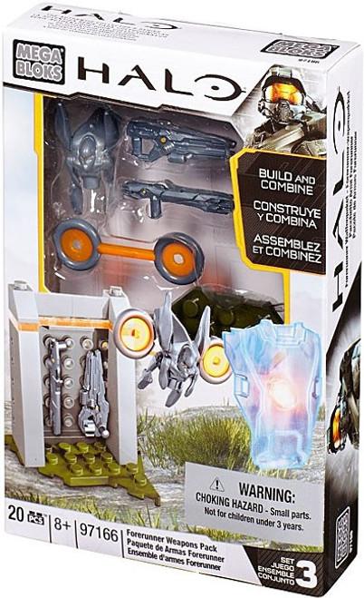 Mega Bloks Halo Forerunner Weapons Pack Set #97166